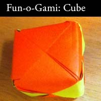 Funogami: Ep 4 - How to Make a Cube
