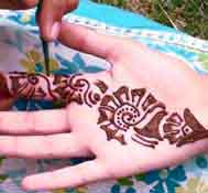 Mehndi for Eid!