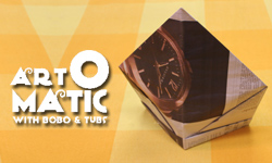 Art-o-Matic: Origami Tall Cap