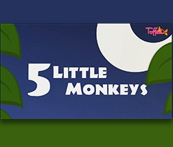 5 Little Monkeys (English)