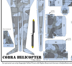 Cobra Helicopter Layout