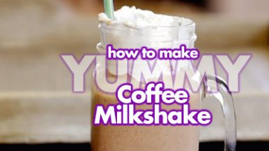 Yummy Coffee Milkshake