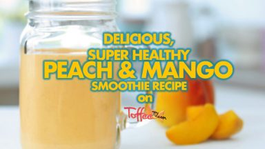 How to make a Peach and Mango Smoothie