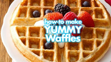 Make Yummy Waffles