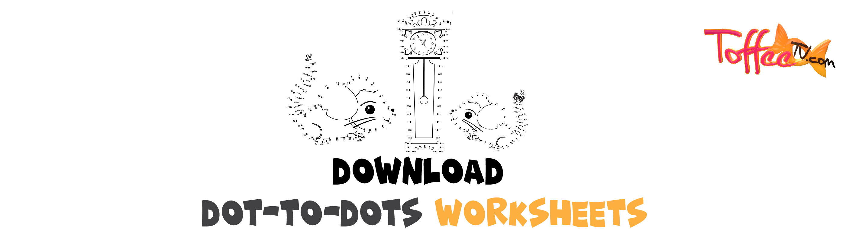 Hickory Dickory Dock Dot-to-Dot worksheet