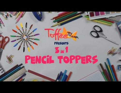 DIY Pencil Toppers – Back To School – 5 minutes craft