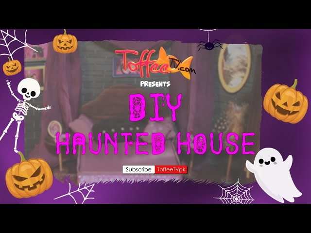 Haunted House DIY- Halloween Ideas
