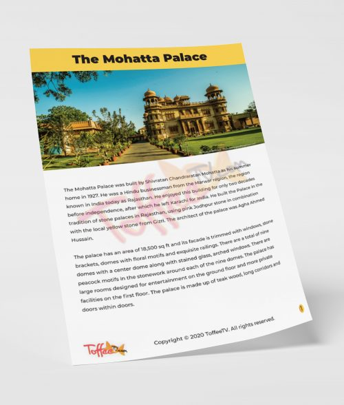 The Mohatta Palace